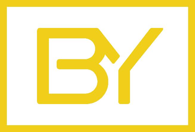 Icono biyectiva amarillo fondo transparente