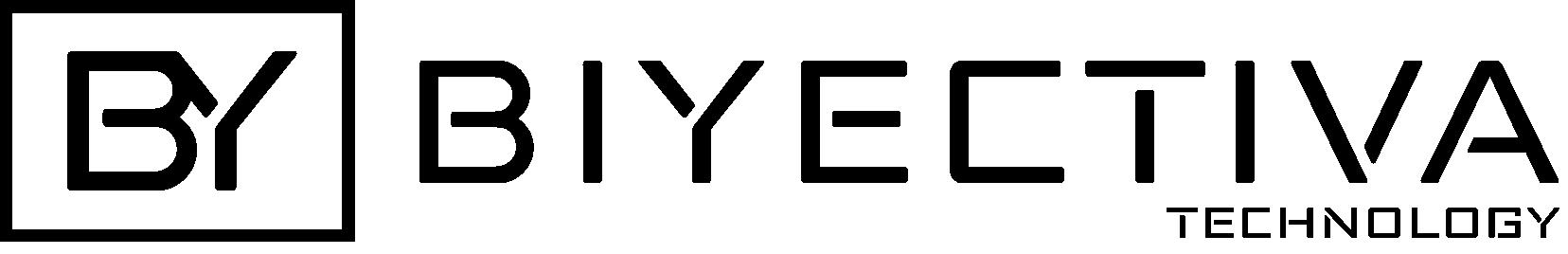 Logotipo biyectiva negro fondo transparente