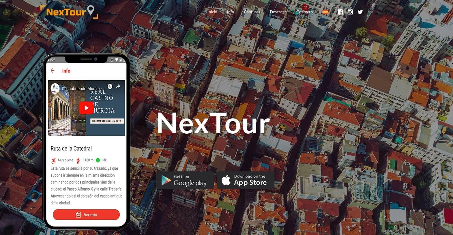 Nextour - Colaboración con el Ayto. de Murcia